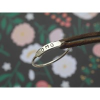 Âme Jewels - OMG Ring - Silver