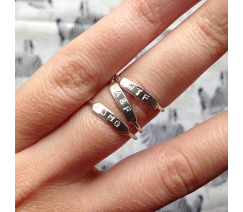 Âme Jewels - WTF Ring - Silver