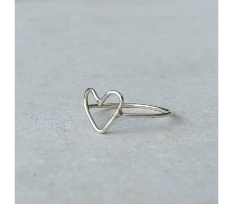 Âme Jewels - Heart Ring
