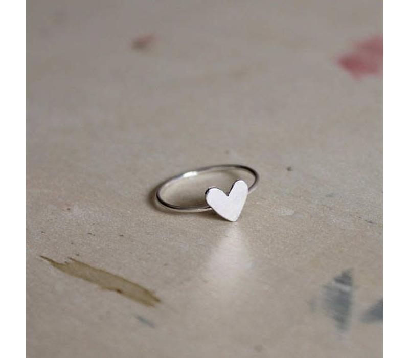 Âme Jewels - Small Heart Ring