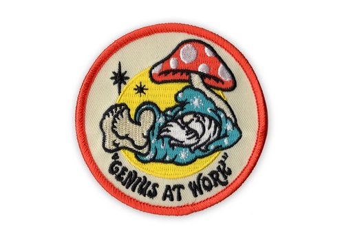 Night Watch Studios Night Watch Studios - Genius at Work - Patch