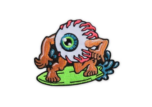 Night Watch Studios Night Watch Studios - Surfin' Eyeball - Patch