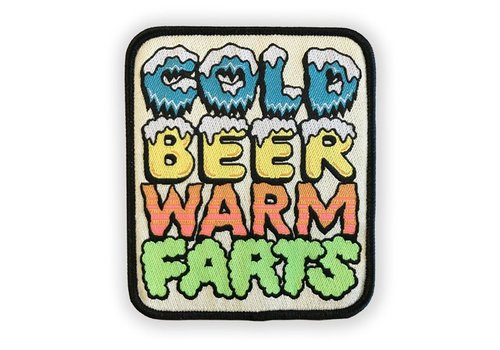 Night Watch Studios Night Watch Studios - Cold Beer Warm Farts - Patch