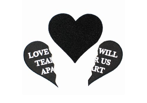 Ball & Chain Ball & Chain - Love Will - Velcro Patch