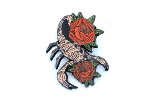 Ball & Chain Ball & Chain - Scorpion - Lapel Pin