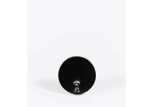 Ball & Chain Ball & Chain - XXX Keyhole - Spin Lapel Pin
