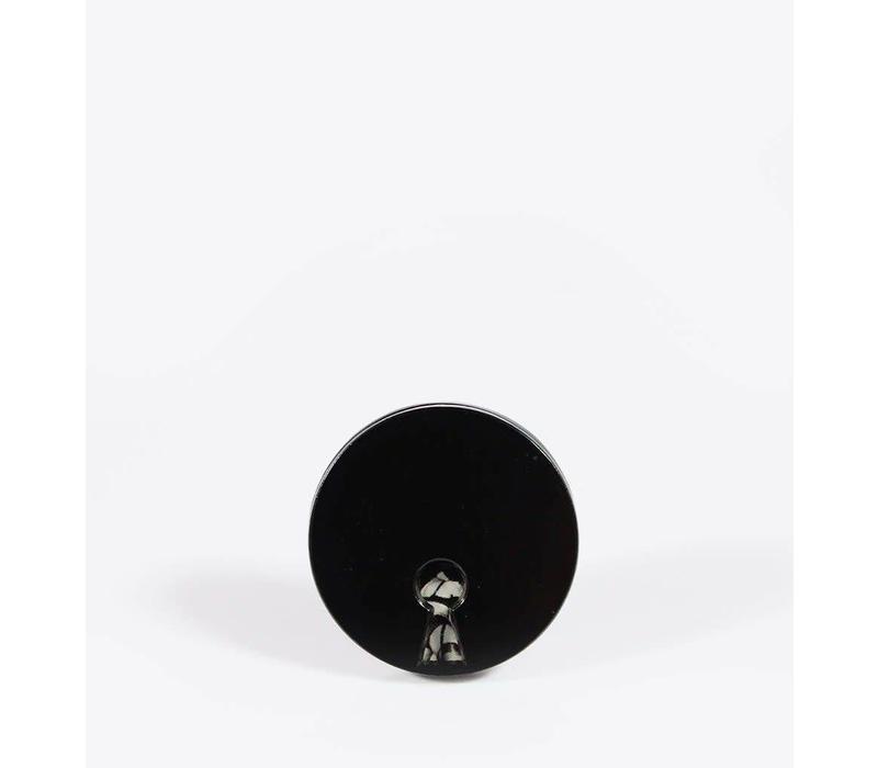 Ball & Chain - XXX Keyhole - Spin Lapel Pin