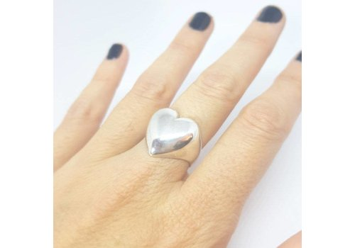 Xtellar Xtellar - Heart Ring - Silver