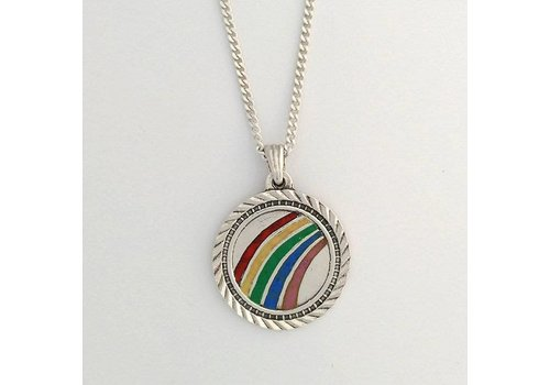 Xtellar Xtellar - Rainbow Necklace - Silver