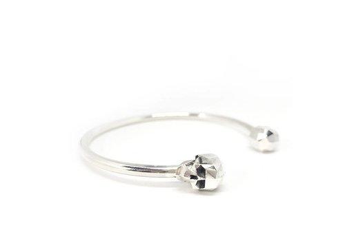 Xtellar Xtellar - Skull Bracelet - Silver
