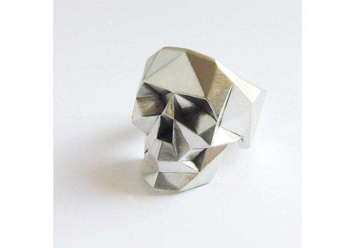 Xtellar Xtellar - Skull Ring - Silver