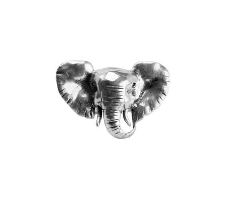 8f2bfa6bea0df9 Michi Roman - Elephant - Silver Ring - Grey Street
