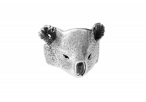 Michi Roman Michi Roman - Koala Ring - Silver