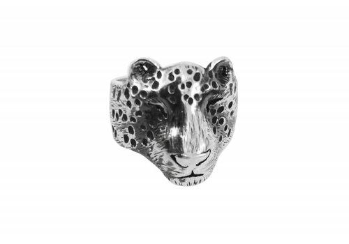 Michi Roman Michi Roman - Leopard Ring - Silver