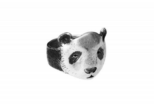 Michi Roman Michi Roman - Panda Ring - Silver