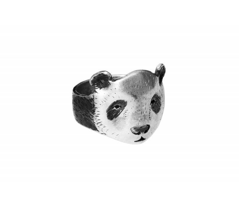 Michi Roman - Panda Ring - Silver