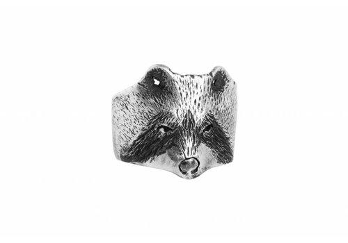 Michi Roman Michi Roman - Racoon Ring - Silver