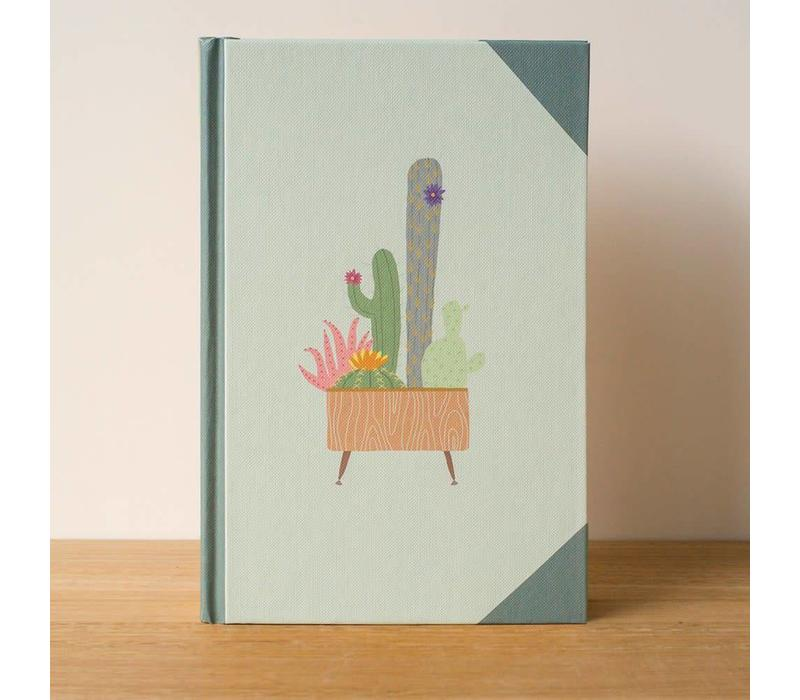 Ask Alice - Cactus - Hardcover Notebook