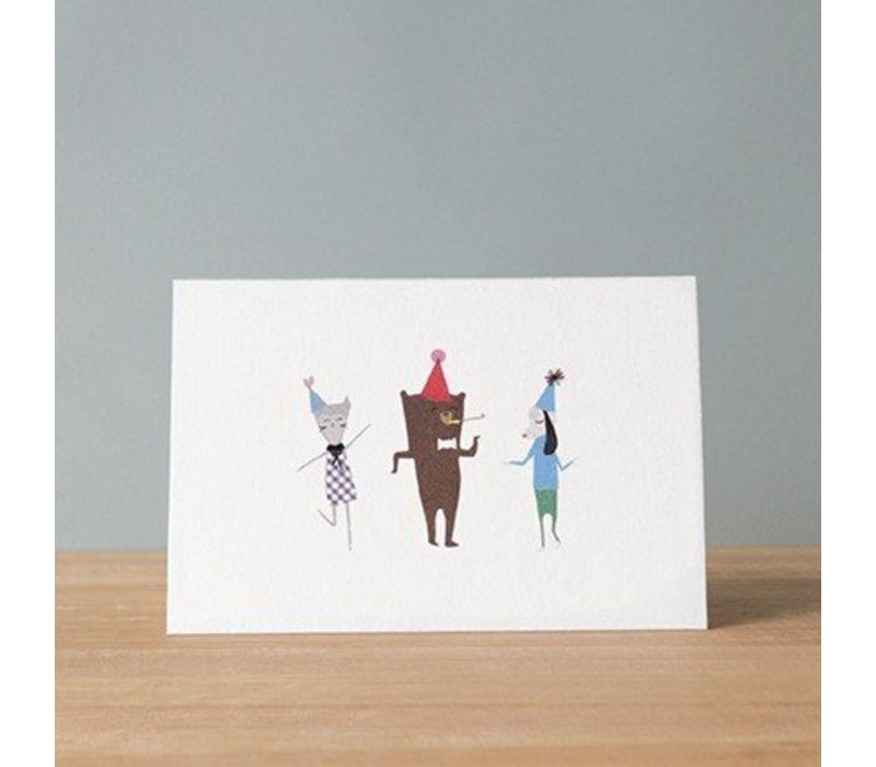 Ask Alice - Party Greeting Gift Card