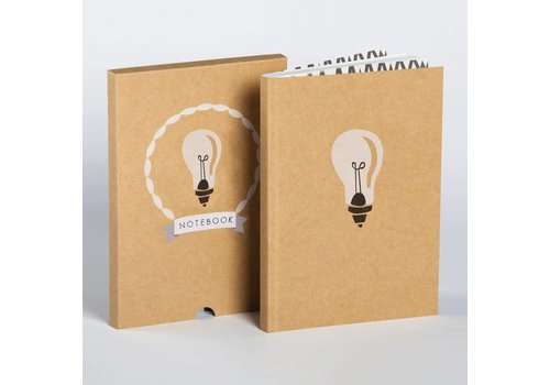 Ask Alice Ask Alice - Lightbulb Boxed Notebook
