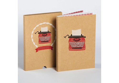 Ask Alice Ask Alice - Typewriter Boxed Notebook