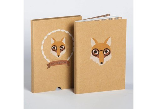 Ask Alice Ask Alice - Fox Boxed Notebook