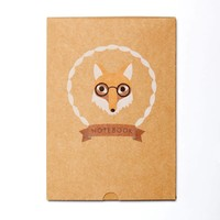 Ask Alice - Fox Boxed Notebook
