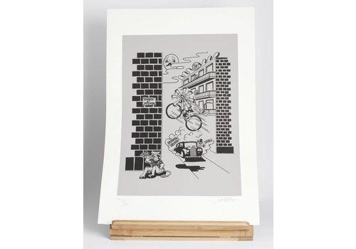 El Puto Ken El Puto Ken - Gotico - Screen Print