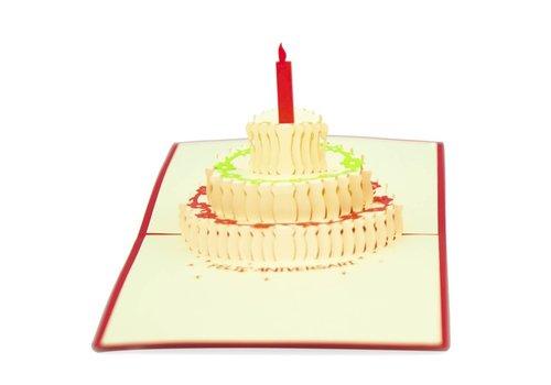 XiuXiu Xiuxiu - Pastís d'aniversari - Greeting Card