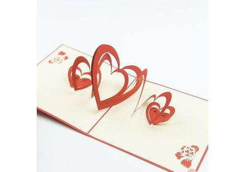 XiuXiu Xiuxiu - Cors d'acordeó - Greeting Card