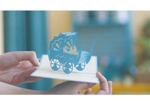 XiuXiu Xiuxiu - Cotxet Benvingut - Greeting Card