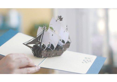 XiuXiu XiuXiu - Caravel.la - Greeting Card