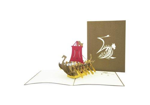 XiuXiu XiuXiu - Drakkar, el Vaixell Viking - Greeting Card