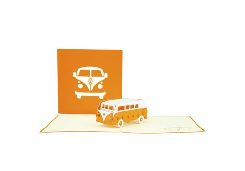 XiuXiu XiuXiu - Hippie Kombi - Greeting Card