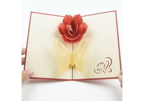 XiuXiu XiuXiu - Papallona - Greeting Card