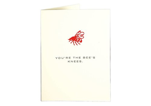 Archivist Gallery Archivist Gallery - Bees Knees - Greeting Card