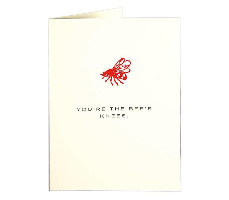 Archivist Gallery - Bees Knees - Greeting Card