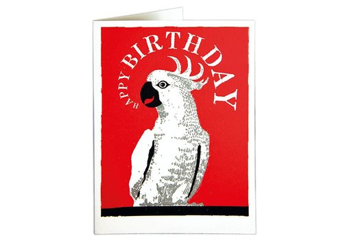Archivist Gallery Archivist Gallery - Cockatoo - Greeting Card