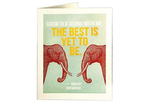 Archivist Gallery Archivist Gallery - Grow Old - Greeting Card