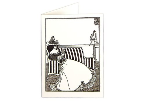 Archivist Gallery Archivist Gallery - Lady Reading - Greeting Card