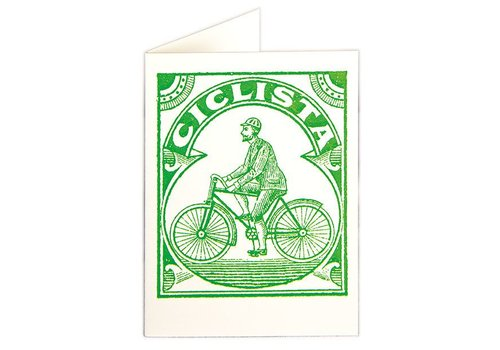Archivist Gallery Archivist Gallery - Cyclist - Greeting Card