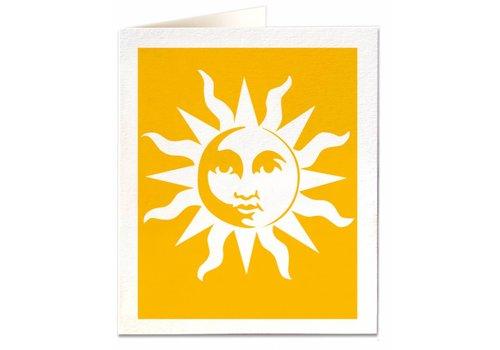 Archivist Gallery Archivist Gallery - Sun - Greeting Card
