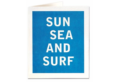 Archivist Gallery Archivist Gallery - Sun, Sea & Surf - Greeting Card