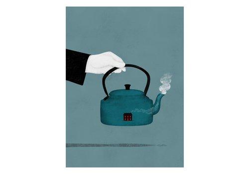 Juanjo Gasull Juanjo Gasull - Teatime - A3 Print