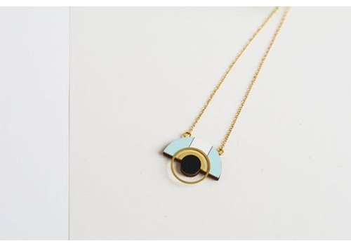 Pithy Pithy - Collection N.11 - Necklace Blue / White