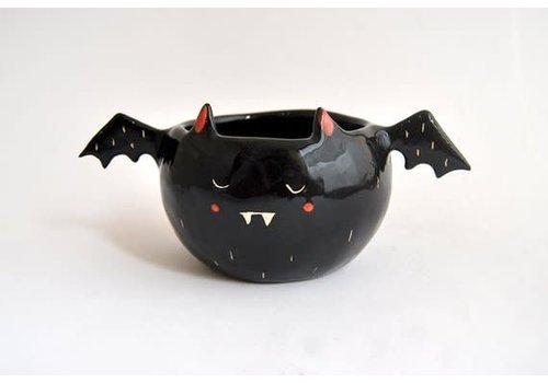 Barruntando Barruntando - Black Vampire Bat - Bowl