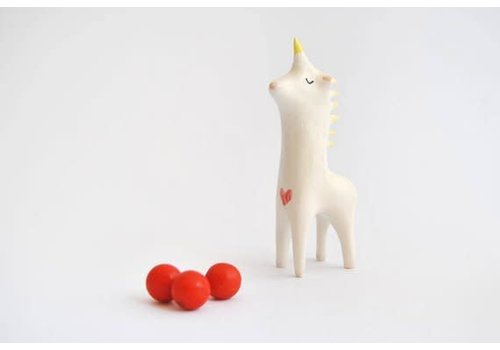 Barruntando Barruntando - Red Heart Unicorn - Figure