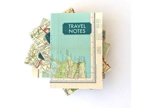 Sukie Sukie - Travel Notes With Vintage Map Cover