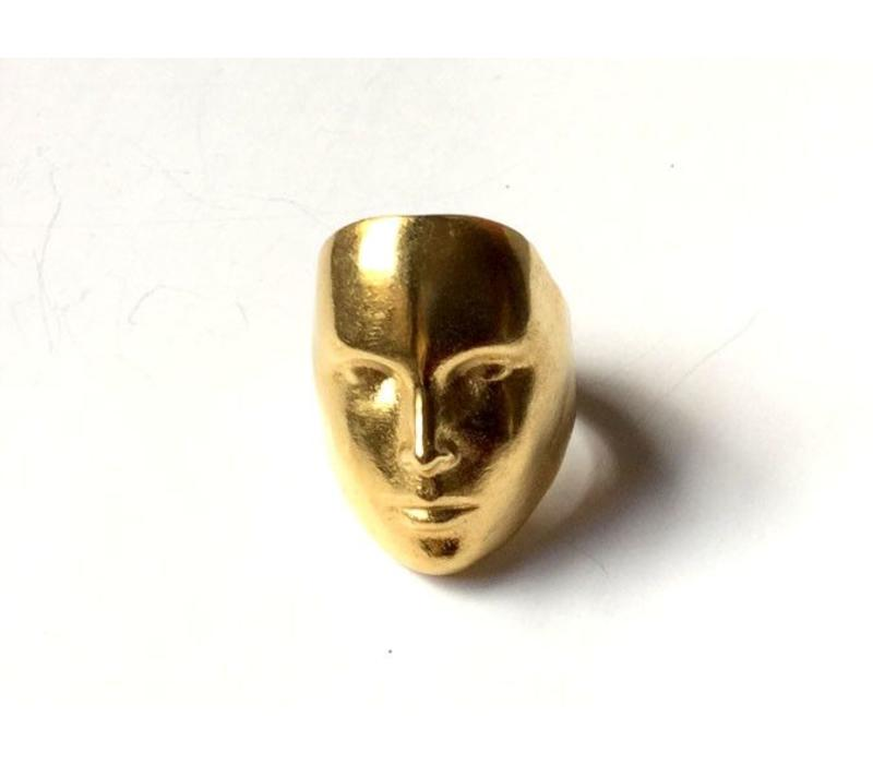 Xtellar - Mask Ring  Gold