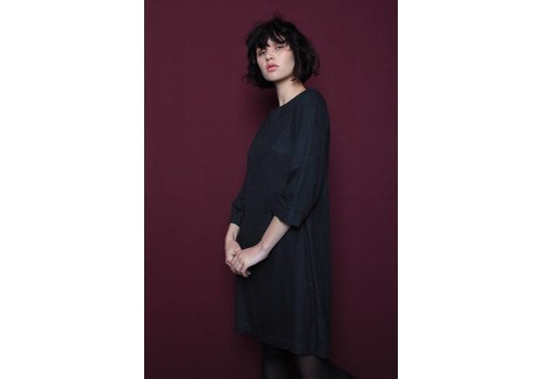 Misley Misley - Shiatsu Dress - Dark Grey